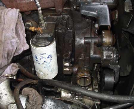 Oilcooler on 2001 Dodge 2500 Diesel Manual